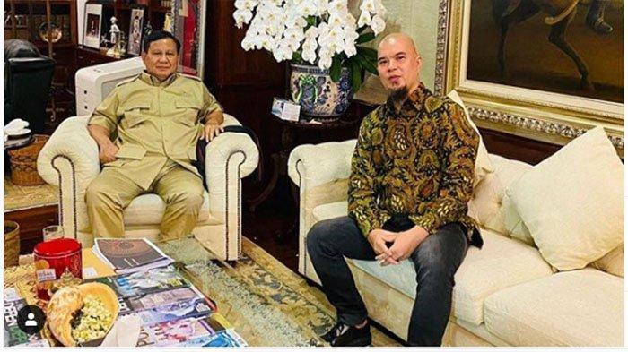 Ahmad Dhani: Seperti Militer, Apa Kata Prabowo Itulah Titah