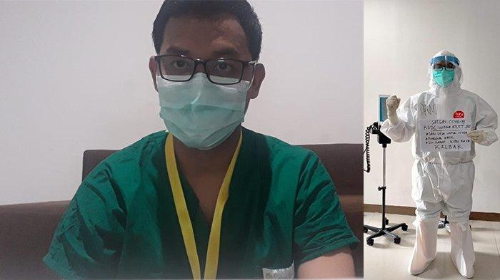 KISAH Perawat Asal Kalbar di Rumah Sakit Corona Wisma Atlet Jakarta, Pahit dan Getirnya Berbalut APD