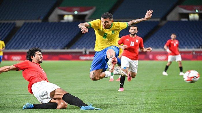 SKOR SEMENTARA Brasil vs Meksiko Olimpiade Tokyo 2021 Sekarang Live Score Hasil Semifinal