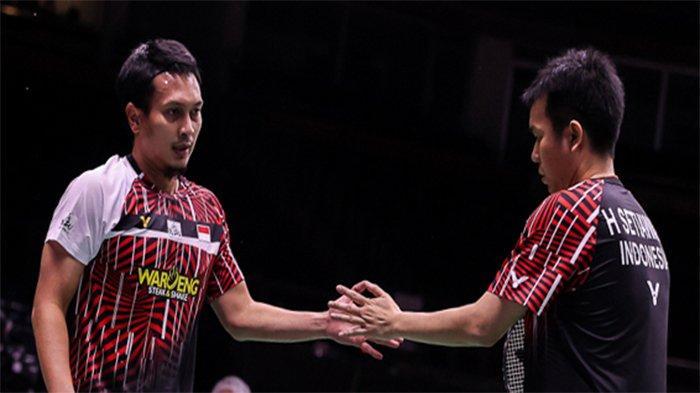 Sedang Berlangsung BWF World Tour Finals dan Update Hasil Ahsan / Hendra di Sini