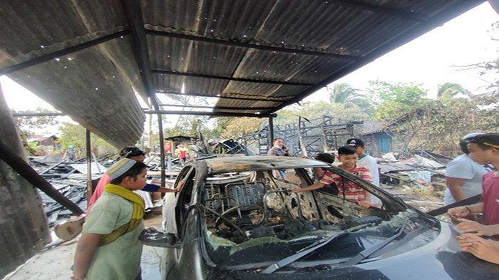 Polisi Usut Sebab Kebakaran yang Hanguskan 3 Rumah dan Satu Unit Mobil di Asrama Gatot Subroto II