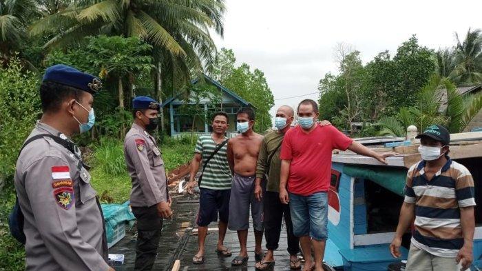 Sat Polairud Polres Bengkayang Imbau Nelayan Tidak Melaut Jika Cuaca Buruk