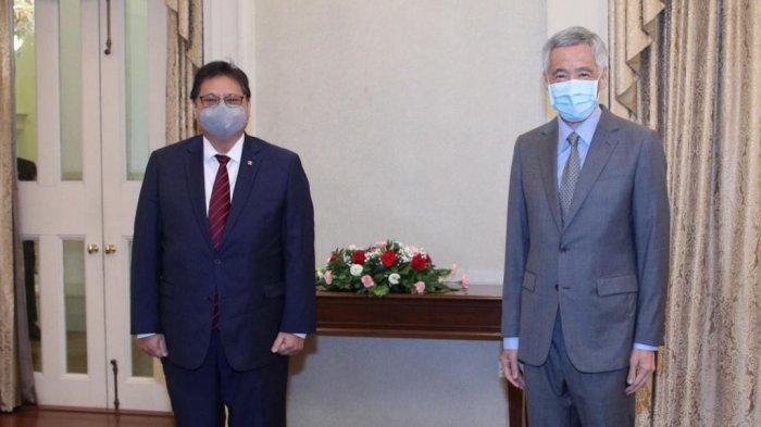 Hasil Kunker Airlangga Hartarto, Singapura Segera Tambah Bantuan Iso Tank dan Liquid Oxygen