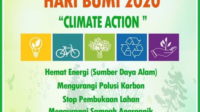 'Selamatkan Bumi Dari Rumah' Jadi Tema Yayasan Palung Peringati Hari Bumi Sedunia