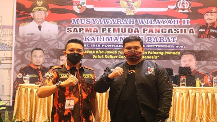 Akbar Ramadhan Nahkodai SAPMA Pemuda Pancasila Kalimantan Barat