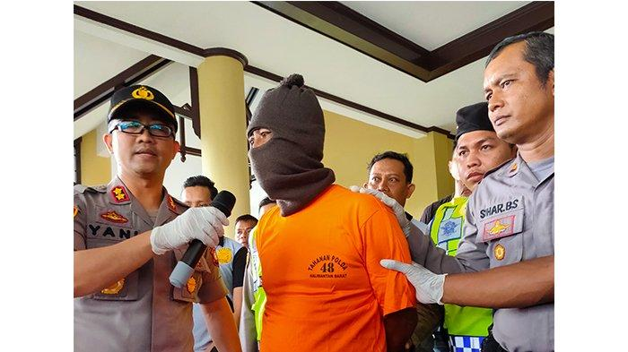 Polisi Ringkus Tersangka Pembunuhan di Rasau Jaya, Identitasnya