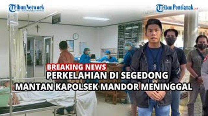 Kesaksian Anak Korban dalam Kasus Maut Mantan Kapolsek Mandor di Segedong! Selamat Jalan Komandan