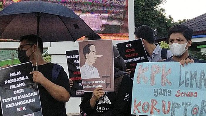 Nilai KPK DiLemahkan, GERTAK Gelar Aksi Tuntut 4 Hal