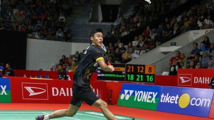 HASIL Final Badminton Asia Team Championships,Jonatan Christie Vs June Wei Cheam Sengit 3 Gim