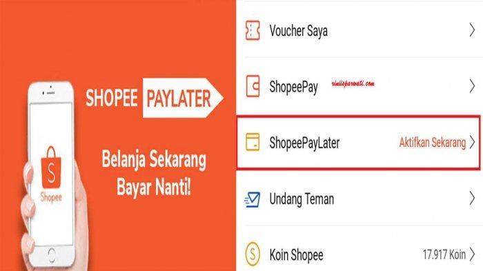 DENDA ShopeePaylater Jika Telat Bayar dan Cara Aktifkan SPaylater Serta Ajukan Limit