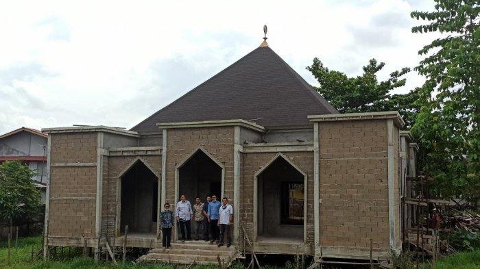Pembangunan Masjid Al-Arsyad UPB Pontianak Capai 70 Persen