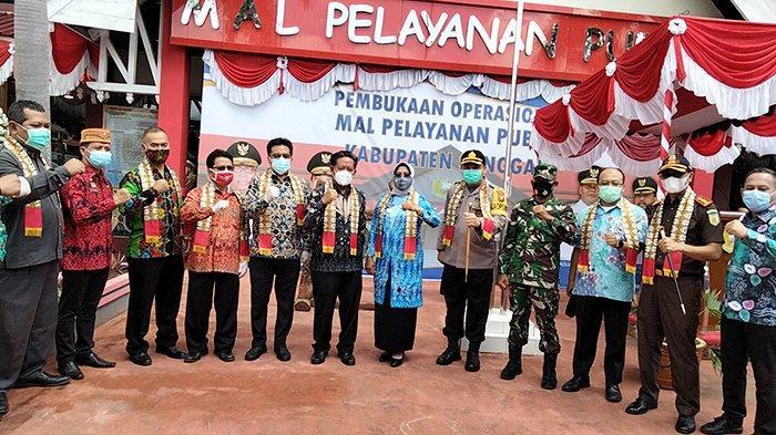 Sekda Kalbar AL Leysandri Resmikan Mal Pelayanan Publik Sanggau