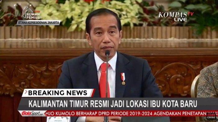 Jadwal Rencana Kunjungan Jokowi ke Kaltim, Presiden Joko Widodo Tinjau Lokasi Ibu Kota Negara Baru ?