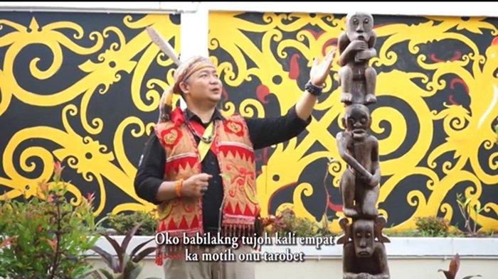 Lagu Dayak asal Ketapang Juara 1 Lomba Tingkat Provinsi