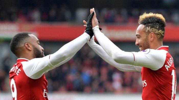 HASIL Chelsea Vs Arsenal Live RCTI Final Piala FA, Aubameyang Balas Gol Pulisic Skor 1-1 HT
