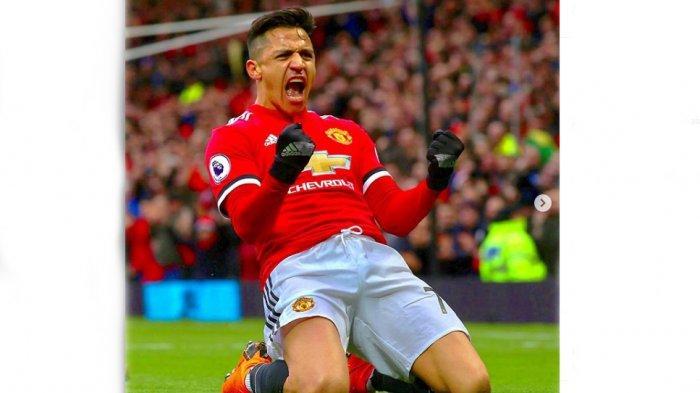 Diisukan Hengkang dari Manchester United, Alexis Sanchez Diburu AC Milan & Juventus, AS Roma Mundur