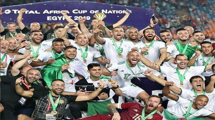 Algeria Juara Piala Afrika 2019 | Riyad Mahrez Gagalkan Ambisi Sadio Mane