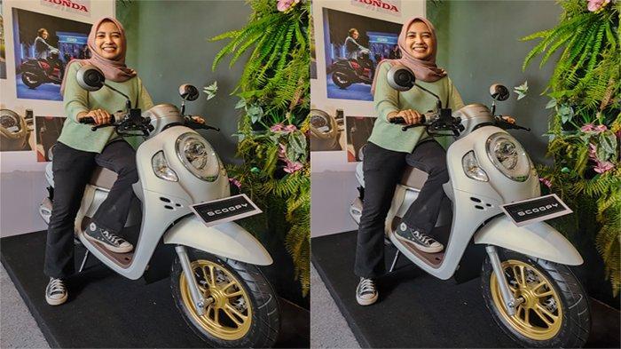Tampil berkarakter dengan All New Honda Scoopy.