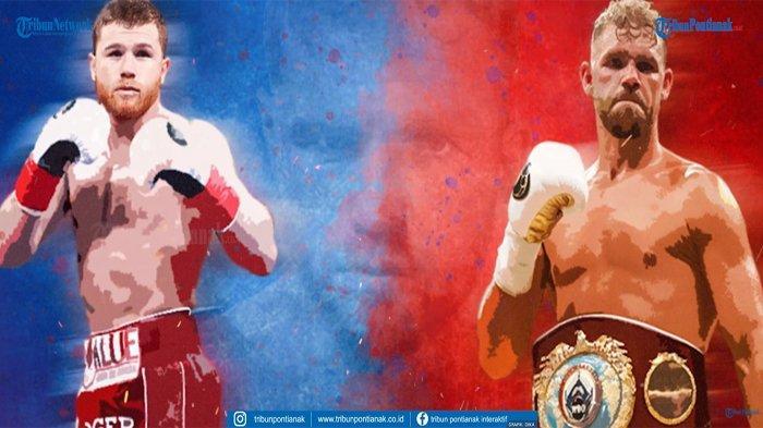 DAZN Live Streaming Canelo Alvarez vs Billy Joe Saunders , Live Boxing Hari Ini Tidak Live TVOne