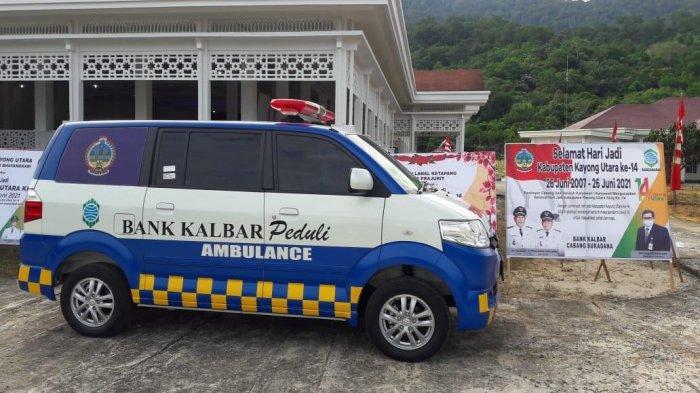Pemkab KKU Terima Bantuan Satu Unit Ambulans dari Bank Kalbar - ambulans-untuk-baznas-kku.jpg