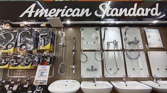 Studio Bangunan Diskon 30 Persen dan Tawarkan Paket Promo Ceria Murah Abis untuk American Standard