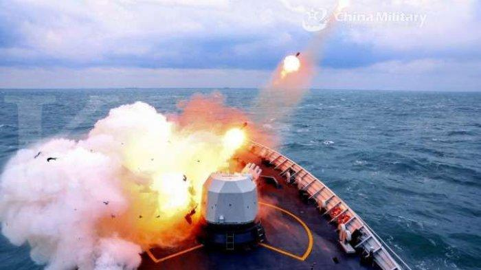 AMERIKA Kirim Pesawat Mata-mata, China Latihan Tembak Langsung | Siap Perang di Laut China Selatan ?