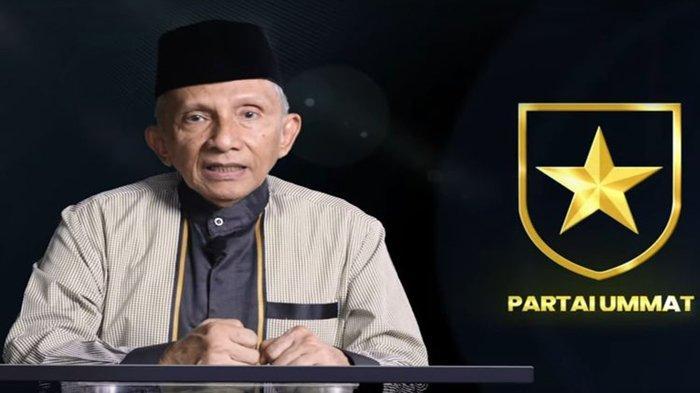 Apa Partai Ummat? Pengurus, Logo dan Sejarah Ummat yang Dideklarasikan Amien Rais 17 Ramadan 1442 H