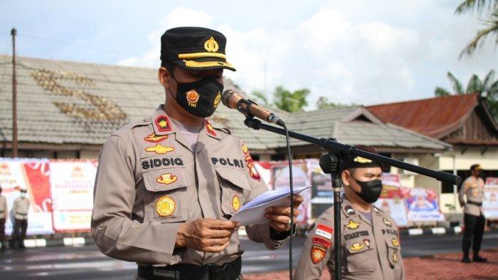 44 Personel Polres Bengkayang Naik Pangkat Dihari Bhayangkara ke-75