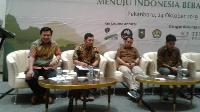 Ditunjuk Langsung CIFOR, Amung Tak Sangka Mewakili KPH Kalbar di Riau