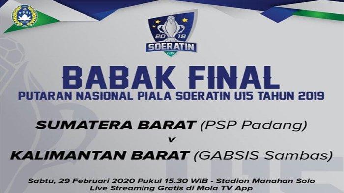 DUEL Bubur Pedas Vs Nasi Padang, Analisa Pelatih Gabsis vs PSP di Final Piala Soeratin U15 2020