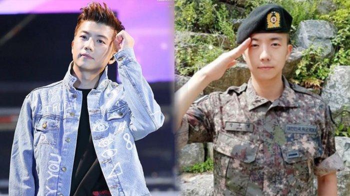 Ancaman Corona di Pangkalan Militer Korea Selatan, Wooyoung 2PM Dipulangkan Wajib Militer Lebih Awal