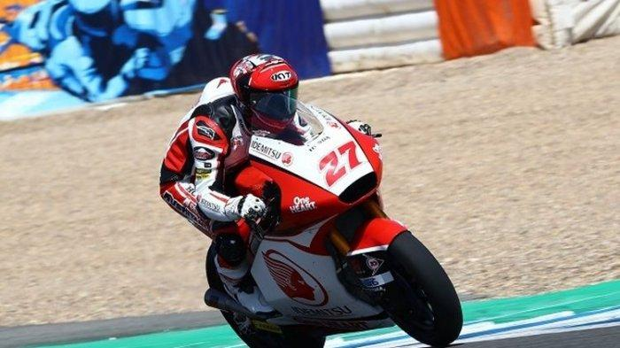 Nomor Start Pembalap Moto2 Indonesia Andi Gilang, Saksikan Live Streaming Moto2 Aragon 2020 Trans7