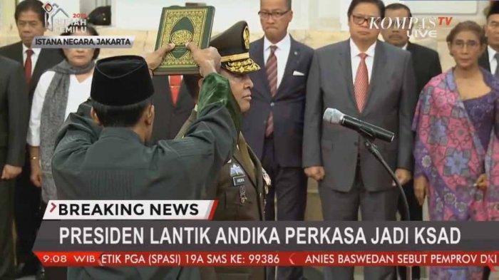 KASAD Jenderal TNI Andika Perkasa Terima Penghargaan dari Amerika Serikat, Sebuah Medali Kehormatan