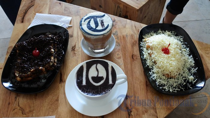 Cemilan Asik ala 101 Coffee House Pontianak, Topingnya Banyak Banget