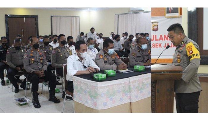 Kapolres Sanggau Pimpin Anev Kinerja Bulanan Polres Sanggau dan Jajaran, Ini Arahan Yang Disampaikan