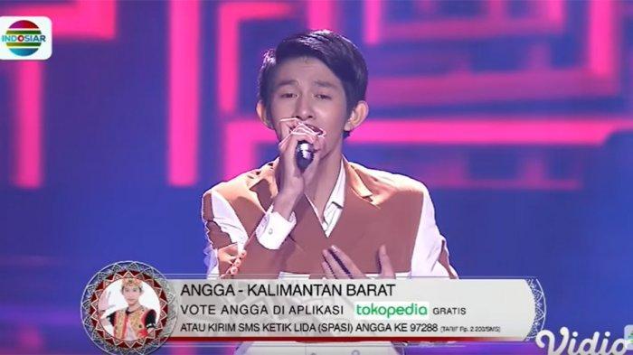 Angga dari Kalbar Bawakan Lagu Berbahasa Madura di LIDA 2020 Top 56, Penampilannya Tuai Pujian Juri