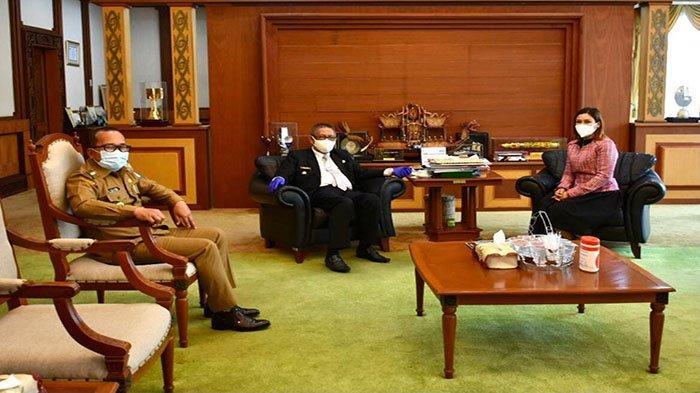 Maria Lestari Komitmen Bersinergi Dengan Program Gubernur Kalbar
