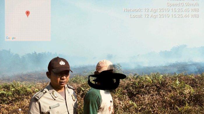 Polres Mempawah Tangkap Lagi Satu Orang Terduga Pelaku Pembakar Lahan