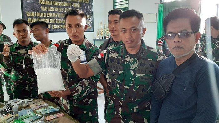 BREAKING NEWS - Tentara Gagalkan Upaya Penyelundupan Sabu 51,9 Kg di Perbatasan Indonesia-Malaysia