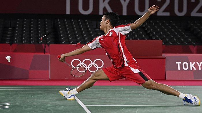JADWAL Badminton Olimpiade Tokyo Besok 1 Agustus 2021, Tonton Anthony Ginting Vs Chen Long
