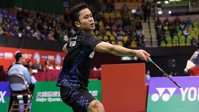 Hasil Drawing Korea Masters 2018: Anthony Ginting Lawan Wakil Israel, Jojo Vs Heo Kwang Hee