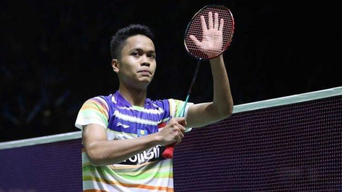 UPDATE HASIL Badminton Asian Team Championship 2020 - Ginting Menang, Indonesia vs Malaysia ( 1-0 )
