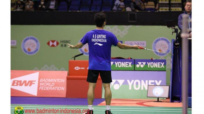 Anthony Sinisuka Ginting Marah Keputusan Wasit di Final Hong Kong Open 2019 Tidak Fair