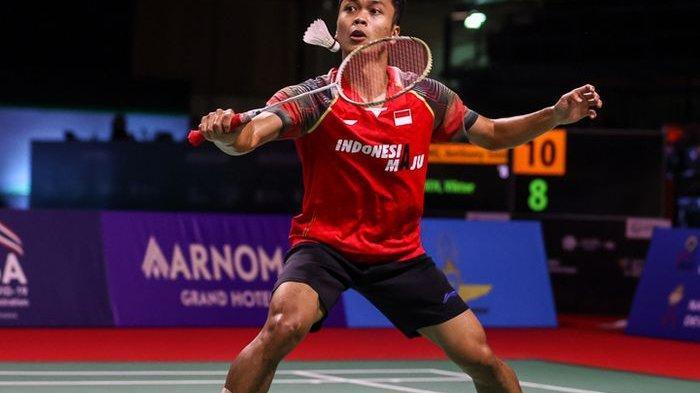 LINK LIVE Streaming Badminton Ginting Vs Chen Long & Live Hasil Ginting Hari Ini Minggu 1 Agustus