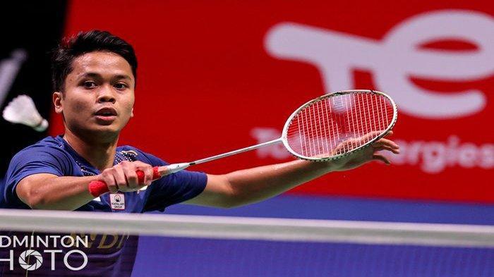 Live Hasil Badminton Thomas Cup 2021 di TVRI Hari Ini Andalan Indonesia Ginting vs Chou Tien Chen