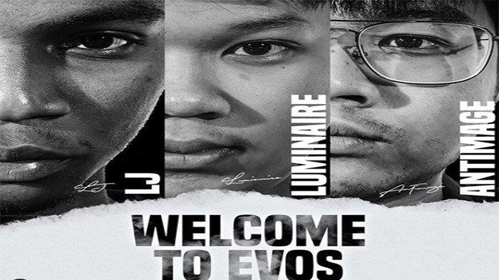 Antimage dan LJ Resmi Gabung EVOS eSports Setelah Keluar dari RRQ dan Onic, Luminaire is Back