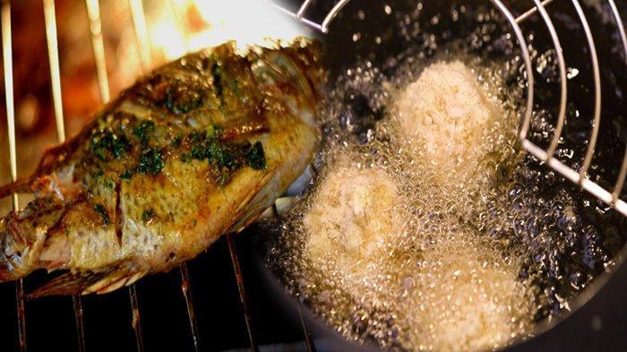 Apa Itu Deep Frying & Metode Memasak Bahan Pangan Ikan dan Daging Dengan Istilah Grilling Disebut ?