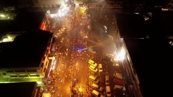 Live Streaming Malam Imlek Pontianak | KEREN! Kembang Api Hiasi Langit Kota Khatulistiwa Pontianak