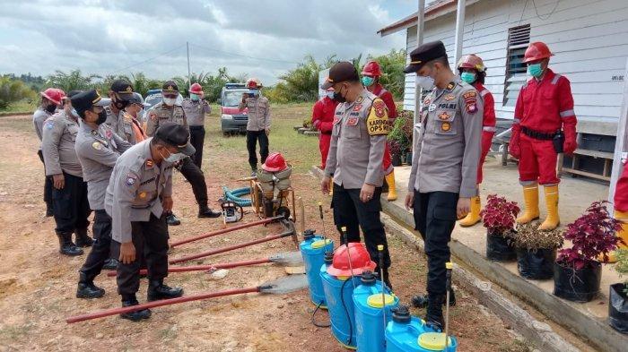 Bebagai Upaya Dilakukan Polres Melawi Dalam Mencegah Terjadi Karhutla di Kabupaten Melawi