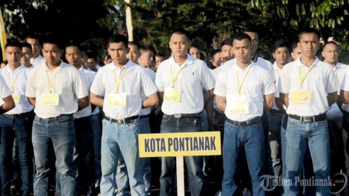 FOTO: Apel Penandatangan Pakta Integritas dan Pengambilan Sumpah Peserta Seleksi Penerimaan Polri - apel-penandatanganan6.jpg
